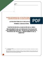 Bases Nueva Convocatoria Comisaria Huanchaco Lp02-2014-Ce-mpt (Reparado)