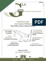La Gaceta - Febrero 2002 - Veinticinco Años Sin Carlos Pellicer