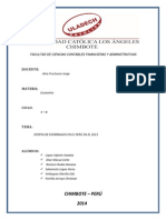 Oferta de Esparragos en El Peru - 2013-2