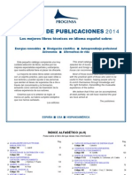 Progensa Editorial Catalogo Libros Publicaciones