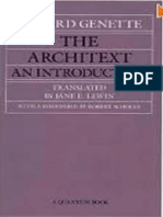 Genette, Gérard (1992) the ARCHITEXT. an INTRODUCTION (Tr. Jane E. Lewin), Berkeley, Los Angeles & Oxford