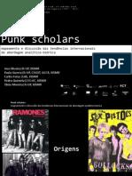 OLIVEIRA, Ana; GUERRA, Paula; FEIXA, Carles; QUINTELA, Pedro; MOREIRA, Tânia (2014) - Punk Scholars