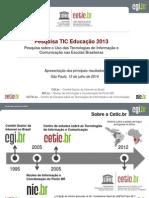 Tic Educacao 2013