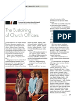 2012 04 2010 the Sustaining of Church Officers Eng
