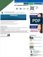 Instala El Driver de Culaquier Impresora Epson en Windows 7. - Taringa!