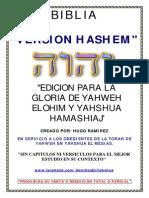 BIBLIA HASHEM