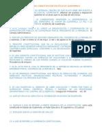 Cuestionario de La Constitución (1)