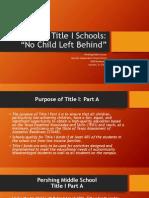 Title I Schools