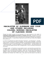 MacAlister of Glenbarr and Cour and Others