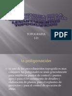 Importancia de La Poligonacion en Los Levantamientos Topograficos