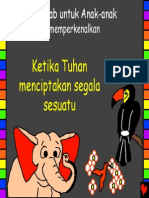 When God Made Everything Indonesian PDA