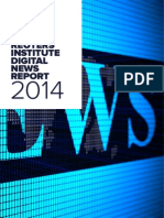 Reuters Institute Digital News Report 2014 - Spain