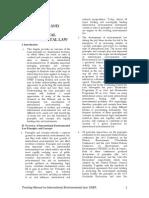 Environmental Law Principles