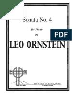 Ornstein Fourth Sonata