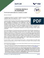 Texto 5 - MISOCZKY, M. C. - Sistemismo e Complexidade