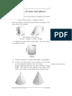 M68 Volumes of Cones and Spheres - EkVolRev1
