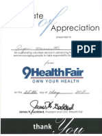9 news health fair cert