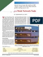 Setting Up a Mesh Network Node