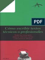 Administracion - Como Escribir Textos Profesionales