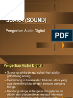 Suara (Sound) Pengertian Audio Digital Materi Konsep Multimedia
