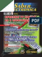 Aprenda TV Color - Leccion 1 y 2 - Club Saber Electronica