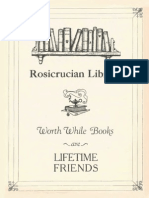 AMORC Worth While Books Are Lifetime Friends 1940 PDF