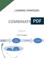 Porter Strategy:Combination
