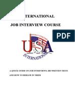 Apostila Curso Job Interview