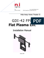 Ginni Home Theater GDI-42FPL Instructions