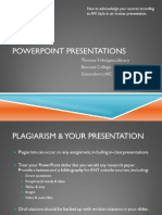 APA Style PowerPoint Presentations 0312