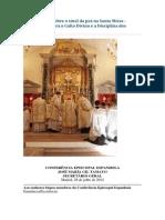 Carta Circular Sobre o Sinal Da Paz Na Santa Missa