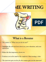 Guide for Resume (1)