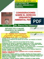 Consideraciones Sobre Der Urb Amb Peruano Pfoy Marzo 2011