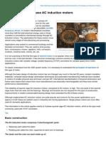 Construction of 3Phase AC Induction Motors