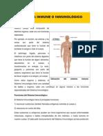 Sistema Inmune o Inmunológico