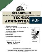 Técnico Administrativo Df Seap