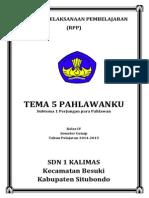 Rpp Kurikulum 2013 Tema 5 Subtema 1
