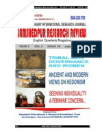 Jamshedpur Research Review -7th Issue(ISSN 2320-2750)