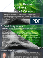 Exposing the Reefer Madness of the Parliament of Canada 4of10 Dreeshen-Goguen