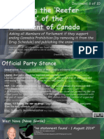 Exposing the Reefer Madness of the Parliament of Canada 6of10 Kerr-May, Elizabeth