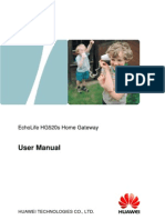 EchoLife HG520s Home Gateway User Manual