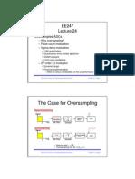 Oversampled ADCs