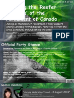 Exposing the 'Reefer Madness' of the Parliament of Canada 8of10 Papillon-Scott
