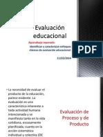 Evaluación Educacional Clase 2