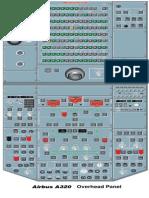 A320 Overhead Panel