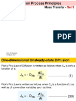 Ficks Law in Different Coordinates