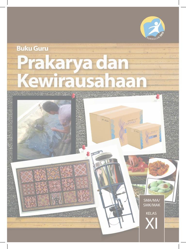 Buku Pegangan Guru Prakarya Dan Kewirausahaan SMA