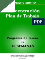 Concentracion 0 -Plan de Trabajo