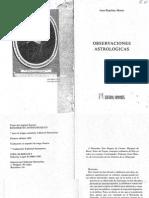 Observaciones Astrológicas - Jean-Baptiste Morin