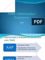 TDAH – Intervenção